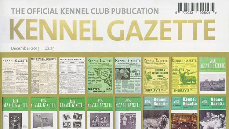 KC chooses publisher for resurrected Kennel Gazette